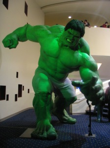 HULK SMASH FOR NOT HANDING YOUR HOMEWORK IN ON TIME (Image taken from Wikipedia)